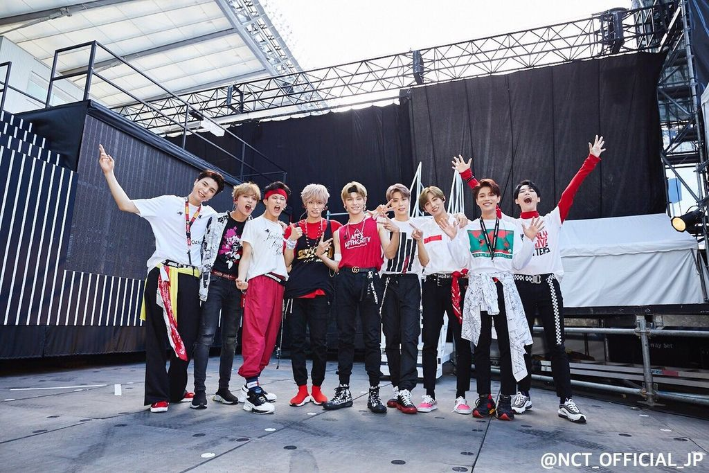 180825 NCT OFFICIAL JAPAN's 推更-NCT127