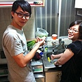賢慧的洗菜切菜而人組