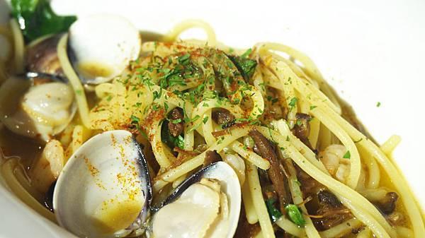 XO蝦醬海鮮義大利麵(辣)