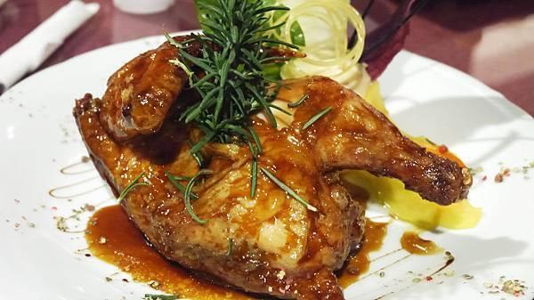 迷迭香日式烤半雞(皇家豪華套餐)