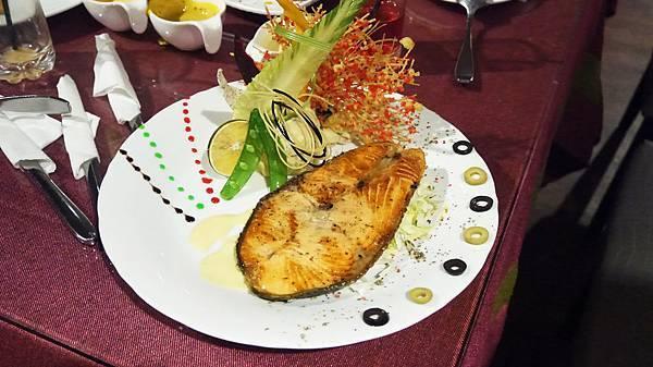 香煎鮭魚(皇家豪華套餐)