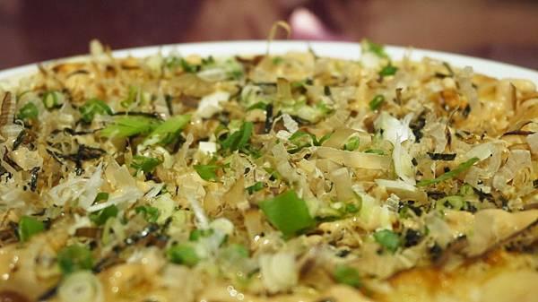 大阪燒章魚披薩