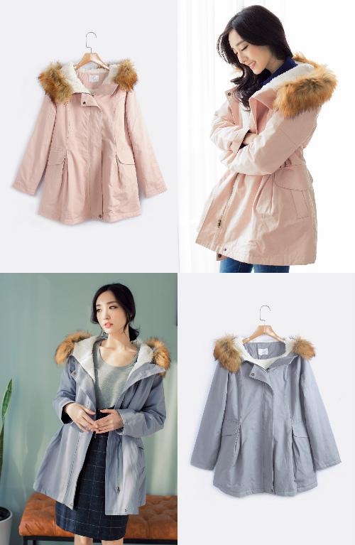 ORENDA比較特別的女孩傘擺舖棉大衣外套.jpg