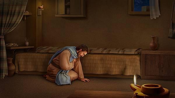 彼得在熬煉中愛神