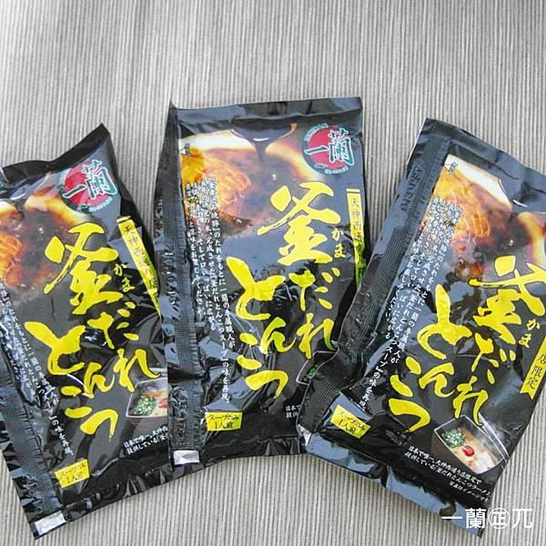 一蘭の實體包裝拉麵(6)