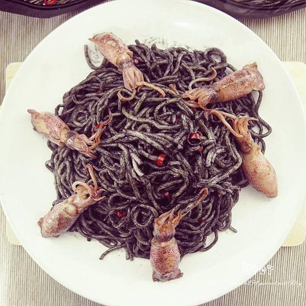 墨魚乾泡麵(10)