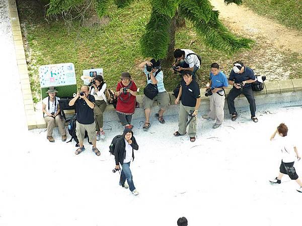 一群沒有爬上慈恩塔的同學