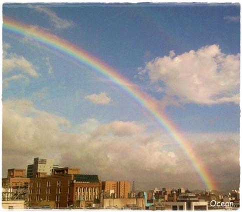 980717  好夢幻又清晰的彩虹
