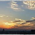 1010902 好久沒出現的漂亮夕陽  因為烏雲蓋日好長一段時間