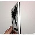 止滑矽膠圖案黏在陶瓷吸水杯墊上