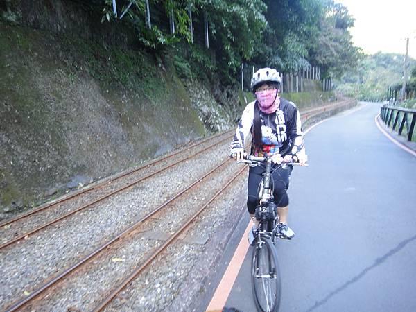 烏來台車的鐵道