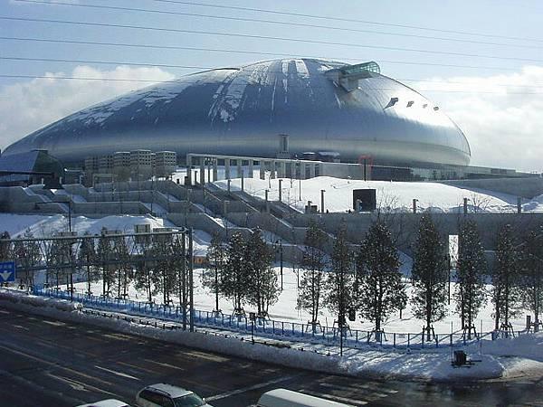 冬の札幌ドーム