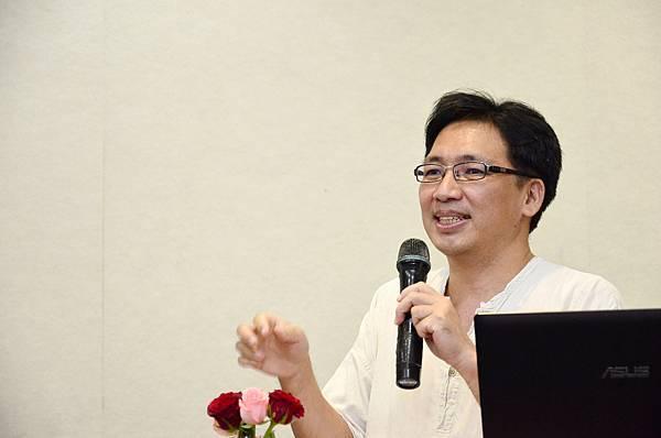 社長陳昭川先生講解飯水分離概念