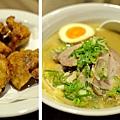 台北,麵屋輝,叉燒沾麵、叉燒拉麵、日式炸雞塊,85分。