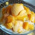 台北,Aqua Kiss水吻2,超級芒果冰,80分。