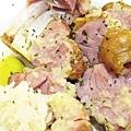 台北,米蘭意廚,德國豬腳,85分。