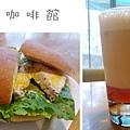 台北,朵兒咖啡館,雞肉三明治、冰奶茶,90分!