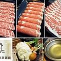 台北,沐樺 精緻涮涮鍋,澳洲和牛、無骨牛小排、銀牌肋眼沙朗,80分。