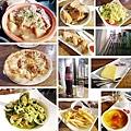 台北,薄多義,阿爾薩斯豬腳、海陸派對Pizza、青醬綜合海鮮麵,85分。