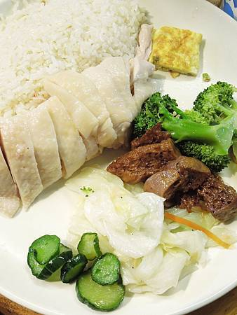 台北,慶城海南雞飯,2號餐,90分!