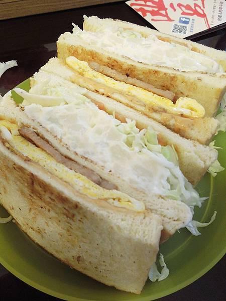 台北,豐盛號,豐盛三明治,90分!