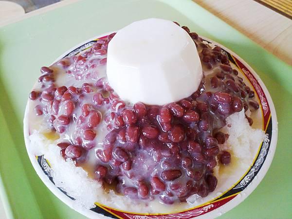 台北,臺一牛奶大王,奶酪紅豆牛奶冰,90分!