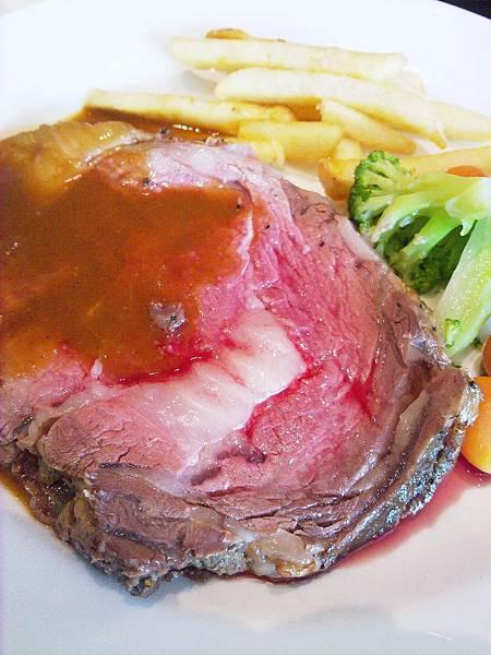 台北,法樂琪 SOGO復興店,燒烤美國極黑牛肋眼牛排,90分!