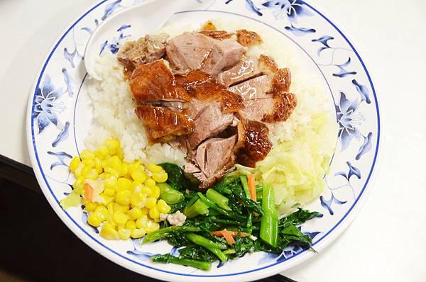台北,家鴻燒鵝,招牌烤鵝飯,90分!