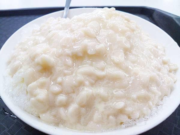 台北,楊記花生玉米冰,花生牛奶冰,90分!