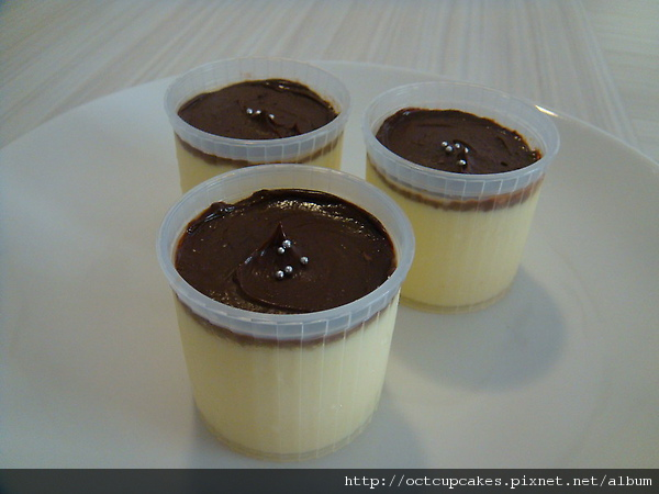 手工產區70%巧克力烤布丁