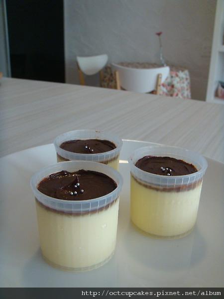 手工產區70%巧克力烤布丁-1