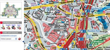 ICC Stadtplan