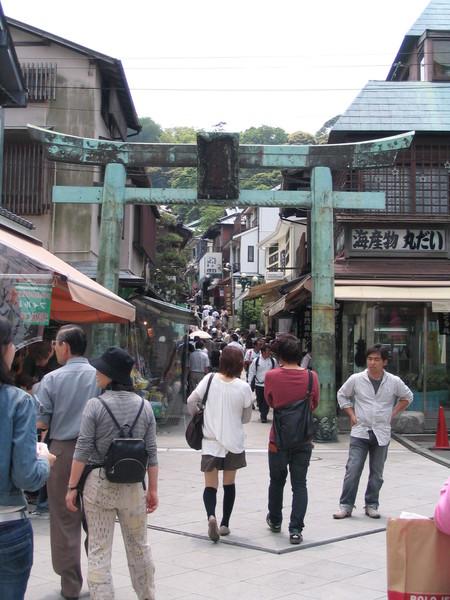 070519鐮倉見學-準備進入江之島神社