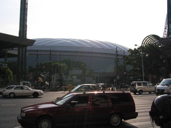 遠方的東京巨蛋