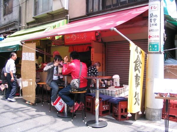070603築地市場-親子丼-02