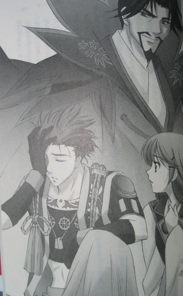 紅之月文庫版小說插圖-05