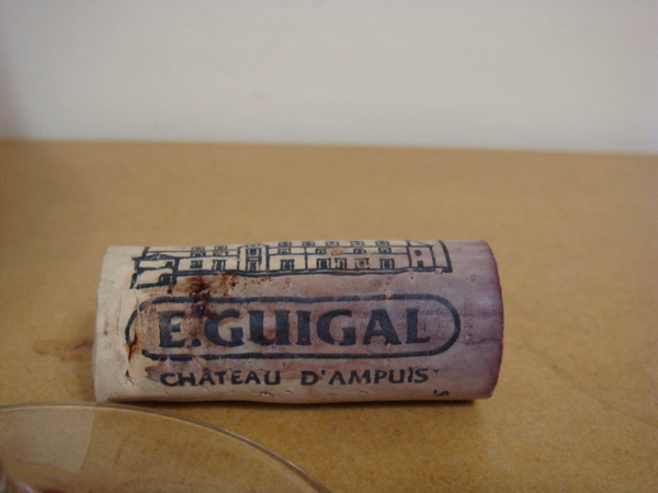 cork of E. Guigal Gigondas.JPG