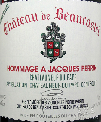 Chateau Beaucastel Chateauneuf du Pape Hommage A Jacques Perrin.jpg