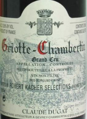 Domaine Claude et Maurice Dugat Griotte Chambertin.jpg