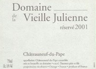 Domaine de la Vieille Julienne Chateauneuf du Pape Reservee.jpg