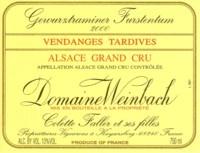 Domaine Weinbach Gewurztraminer Furstentum Quintessence de Grains Nobles.jpg