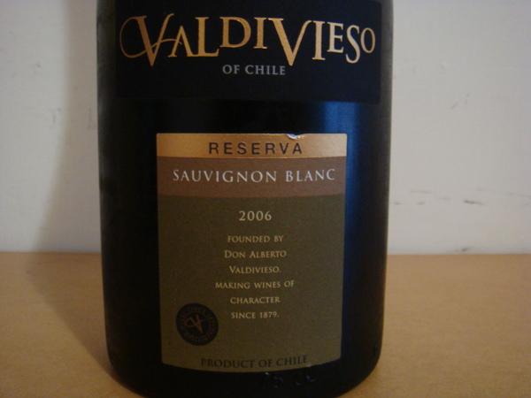 Valdivieso Reserva Sauvignon Blanc