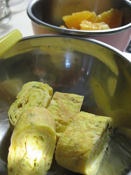7/2早餐~玉子燒+柳丁