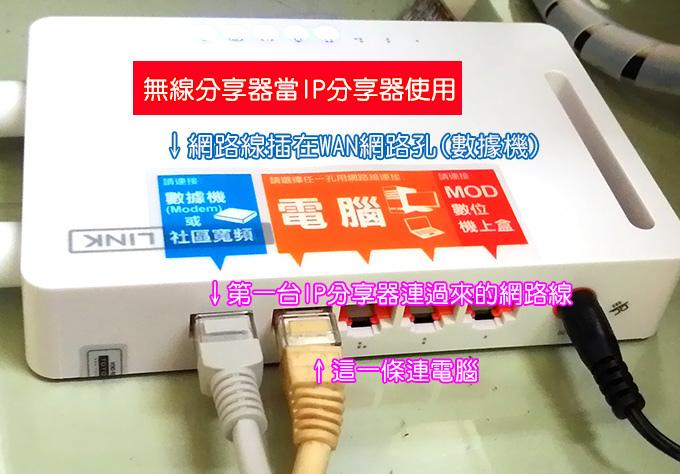 無線IP分享器02