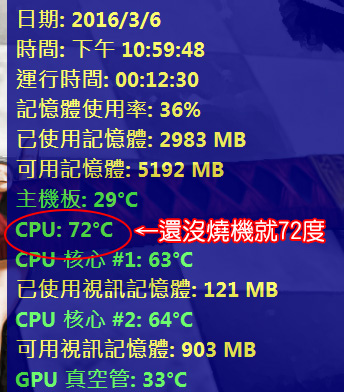 CPU溫度