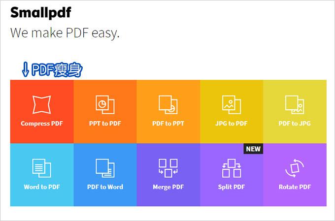 PDF瘦身