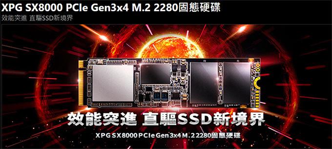 威剛-XPG-SX8000-256G