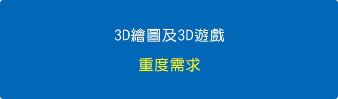3D繪圖或3D遊戲的「重度需求」,其實可以多加一顆SSD當遊戲碟或繪圖碟。.jpg