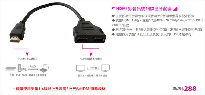 HDMI-影音訊號1進2出分配器.jpg