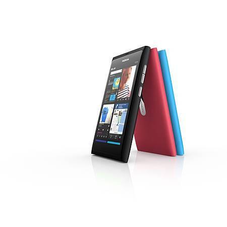 諾基亞發表最新手機N9,今年將會上市。.jpg